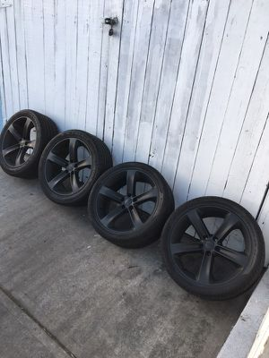 """Dodge Challenger 20"""" wheels & tires for Sale in San Diego, CA"""