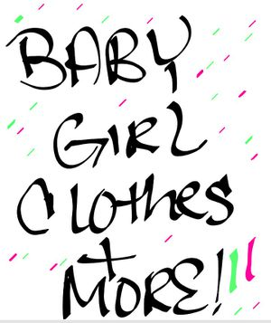 Baby girl clothes all sizes up too 12 months for Sale in Orlando, FL