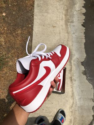 Jordan 1 low Gym Red for Sale in Hemet, CA