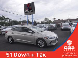 2017 Hyundai Elantra for Sale in Redford Charter Township, MI