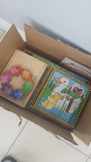 Baby games and puzzles for Sale in Carol City, FL