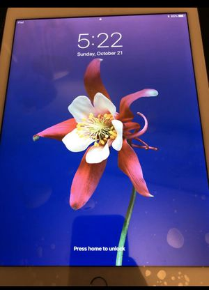 iPad Air 2 16GB good for parts only brand new LCD screen !!!!!!!!!!!READ DESCRIPTION!!!!!!!!!!!!!!!!! for Sale in Alhambra, CA