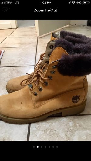 Timberlake boots with Faux fur for Sale in Washington, DC