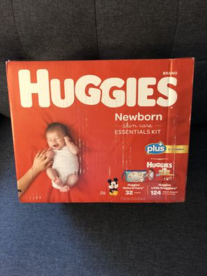 Huggies Newborn Diapers 124 count new never opened for Sale in Chula Vista, CA