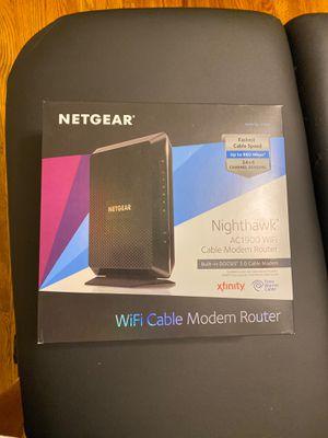 Netgear WiFi modem router for Sale in Southfield, MI