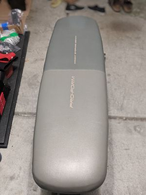 Pro Form Flat Bench for Sale in San Jose, CA