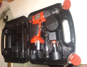 Black & Decker Drill with extra battery for Sale in Mayodan, NC