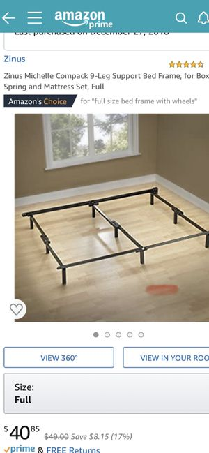 Full size bed frame BRAND NEW for Sale in Damascus, OR