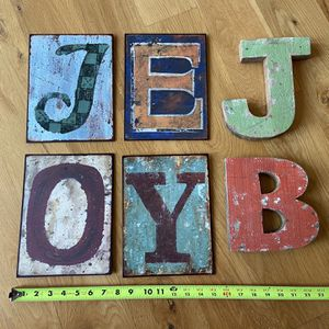Wood And Metal Letters for Sale in New Albany, OH