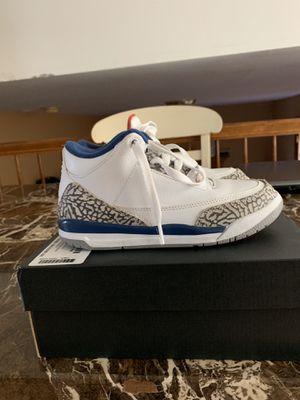 Kids retro Jordan 3 size 2 for Sale in Elgin, IL