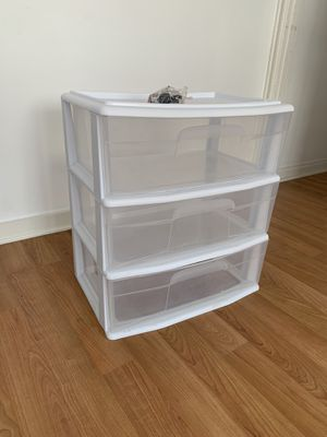Clear Plastic Storage Drawers for Sale in Los Angeles, CA