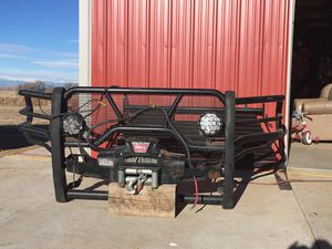 Westin HDX Grill Guard and Warn Winch for Sale in Lakewood, CO