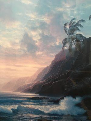 TabOra Hawaiian 🌺 print w matting and frame for Sale in Alexandria, VA