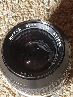 Nikon Nikkor 35mm 1:1.4 lense for Sale in Peabody, MA