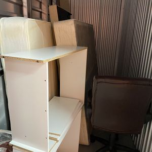 Free Mattress, Bed Frame, TV Stand And Office Chair for Sale in San Jose, CA