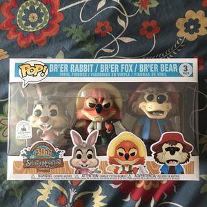 Splash Mountain 3 Pack Disney Exclusive Funko POP! for Sale in Cerritos, CA