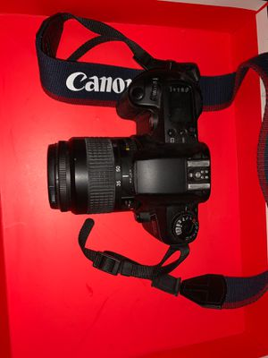 Automatic Canon EOS Rebel G film camera with film and batteries for Sale in Chesterfield, VA