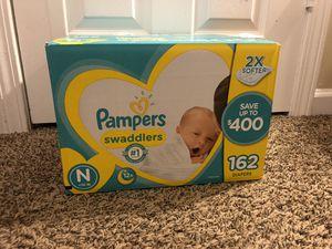 Diapers/Breast Pump ( read description) for Sale in Covington, GA