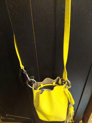 Rebecca Minkoff designer yellow leather purse for Sale in Elizabethton, TN