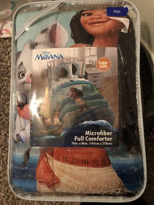 Brand new Moana comforter for Sale in Saginaw, TX