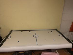 Professional grade air hockey table, Indoors and barely used. for Sale in West Palm Beach, FL