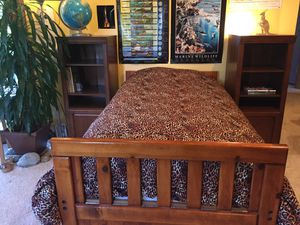Twin size captain bed with mattress for Sale in Federal Way, WA