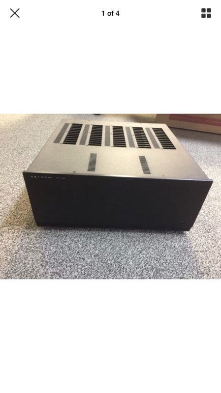 Anthem MCA50 5 channel amplifier. Nice condition, a couple of scratches. Good working order