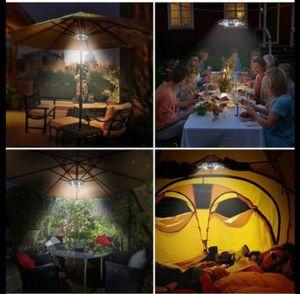 28 LED umbrella outdoor light for umbrella camping tent and patios for Sale in San Bernardino, CA