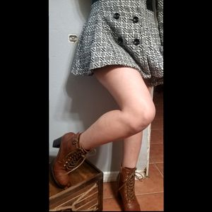 Motorcycle brown combat boots for Sale in Ontario, CA