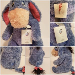 New with tags Disney Treasures Eeyore Stuffed Plush with detachable tail from Winnie the Pooh for Sale in Virginia Beach, VA