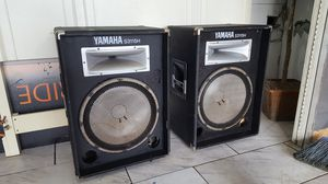 Yamaha professional 15 inch dj speakers for Sale in Monsey, NY