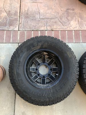 """Fuel 17"""" rims F350 for Sale in Mount Baldy, CA"""
