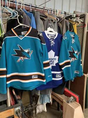 San José sharks jersey for Sale in Ripon, CA