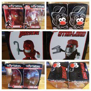 Marvel's Daredevil and Star-Lord mr. Potato heads for Sale in Hoquiam, WA