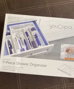 7- Piece Drawer Organizer YouCopia 7 piece with clips for Sale in Columbia,  SC