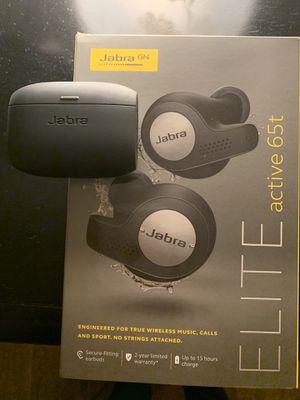 Jabra Elite Active 65t Wireless Earbuds for Sale in Hayward, CA