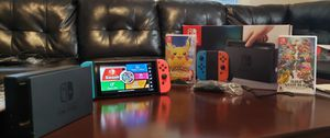 Nintendo switch with two games for Sale in Cumberland, RI