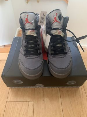 """Off White Jordan 5 """"Muslin"""" Size 9 WORN ONCE VNDS for Sale in Alexandria, VA"""