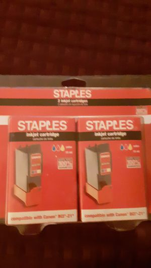 2 Inkjet Color Cartridges for Sale in Findlay, OH