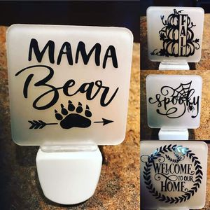Handmade personalized nightlight for Sale in Marion, IL