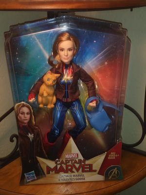 Marvel Captain marvel collectible toy. for Sale in Chino, CA