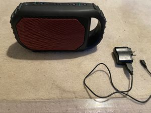 Ecoxgear waterproof Bluetooth speaker with battery, flashlight and usb charging port for Sale in Issaquah, WA