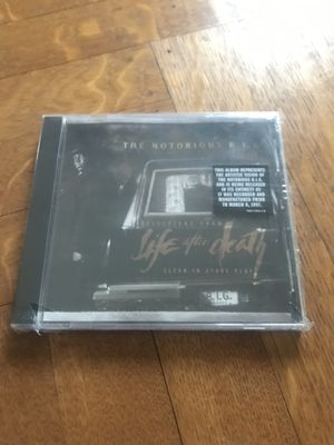 NOTORIOUS BIG LIFE AFTER DEATH CLEAN ADVANCE PROMO CD 1997 NEW SEALED VERY RARE RAP 2PAC for Sale in CAPE ELIZ, ME