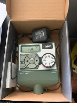 Orbit sprinkler controller 4 station for Sale in Garden Grove, CA