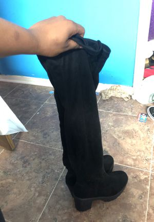 Black Thigh High Boots for Sale in Philadelphia, PA