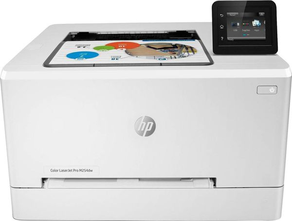 New HP - LaserJet Pro M254dw Wireless Color Laser Printer - Duplex
