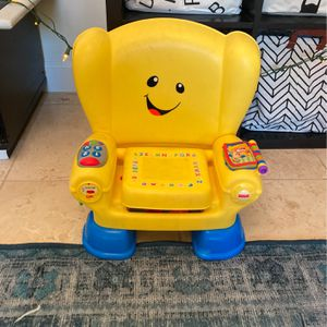 Fisher-Price Laugh and Learn Smart Stages Chair, Yellow for Sale in Scottsdale, AZ