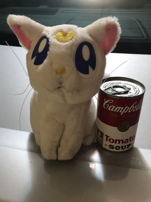 Vintage Anime Collectable Sailor Moon Plush Artemis for Sale in Laguna Beach, CA