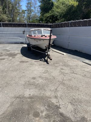 17' CITATION 63 GLASSPAR BOAT & 02 JOHNSON BOAT TRAILER for Sale in Escondido, CA