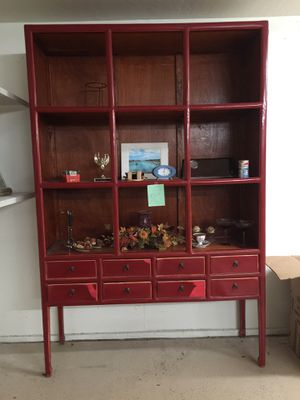 Chinese shelf cabinet for Sale in Chandler, AZ